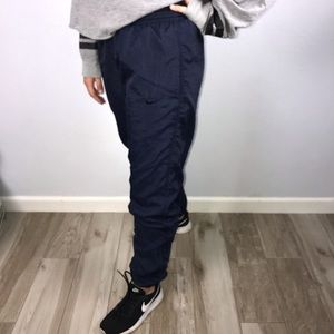 Vintage Nike Windbreaker/Tracksuit Navy Blue Pants